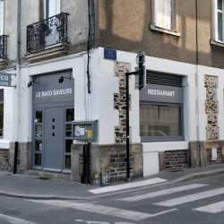 Façade restaurant à Nantes après travaux