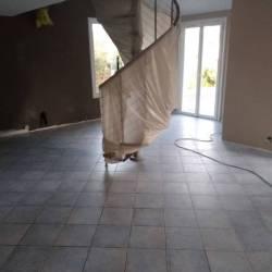 Avant travaux de peinture et pose du nouveau sol
