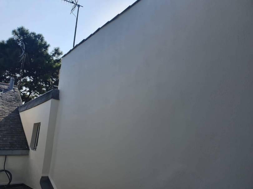 Mise en peinture d'une façade (après)
