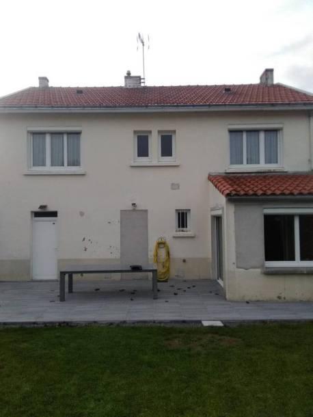 Ravalement de façade (avant)